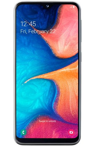 Samsung Galaxy A20e front