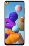 Samsung Galaxy A21s voorkant