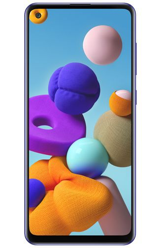 Samsung Galaxy A21s front