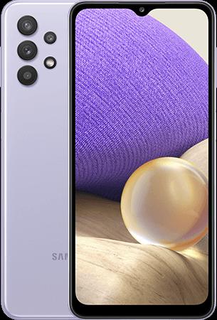 Samsung Galaxy A32 4G back-front