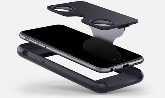 049ead23361d1f Het is namelijk een iPhone 6 iPhone 6S hoesje dat je uit kunt klappen tot  virtual reality-bril!
