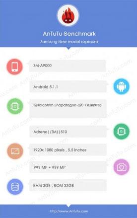 Galaxy-A9-benchmark
