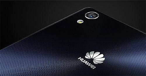 Huawei Ascend P7 achterkant