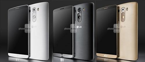 LG G3 kleuren