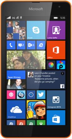 Microsoft-Lumia-535-voorkant