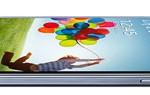 Samsung Galaxy S4 liggend