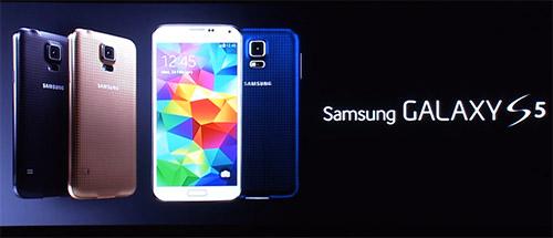 Samsung Galaxy S5 - persconferentie 1