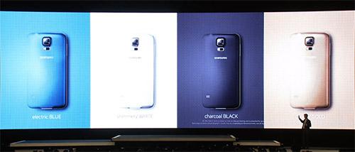 Samsung Galaxy S5 - persconferentie 2
