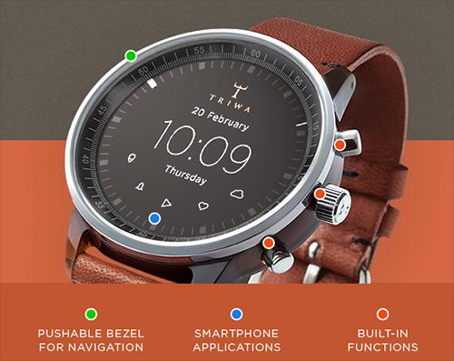een smartwatch die eruit ziet als een stijlvol horloge. Black Bedroom Furniture Sets. Home Design Ideas