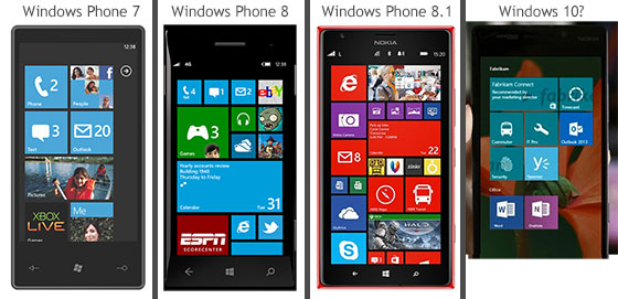 Windows-Phone-versies